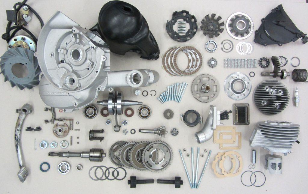 35PS+, ein ESC-K2 Vespa Rennmotor entsteht