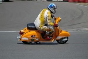 Oliver Kluger Vespa Racing Nürburgrin 2009
