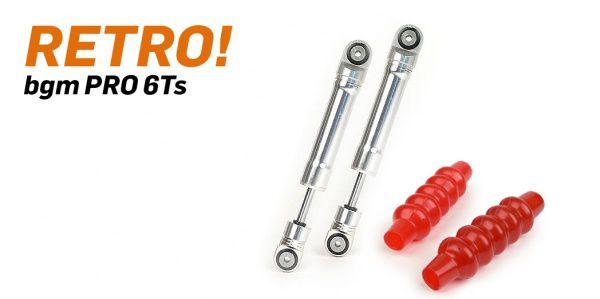 Stoßdämpfer vorne -BGM PRO 6Ts- Lambretta LI, LIS, SX, TV (Serie 2-3), DL, GP - silber
