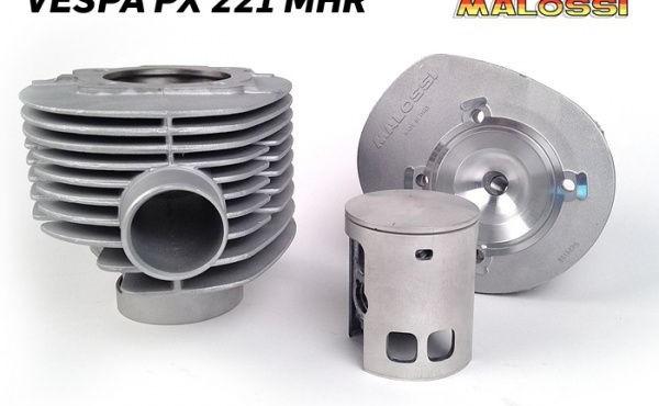 Malossi MHR 221ccm, neuer Zylinder für die 200er Vespa mit 60mm Hub