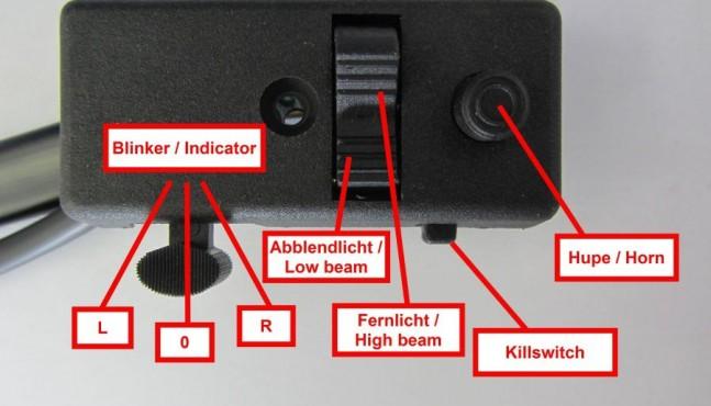 BGM Lichtschalter zur Umrüstung von Vespa V50 Special auf wartungarme, elektronische Zündung