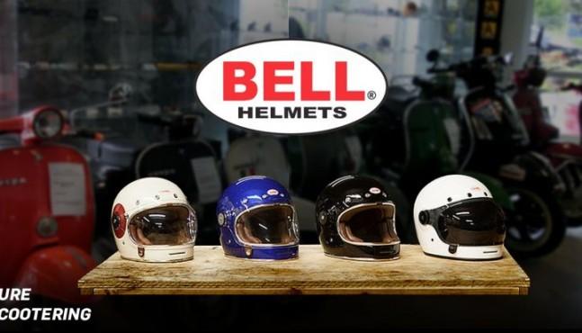 Bell Helme für Vespa und Lambretta – kein Retro – Original