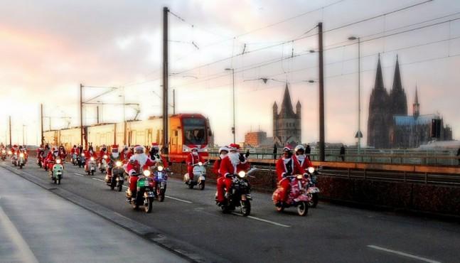 Weihnachtstipps für Rollerfahrer