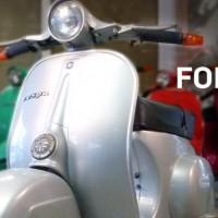 Vespa V50S Rundlicht zu verkaufen