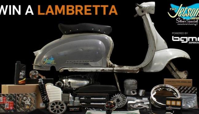Verlosung einer Lambretta 125 2. Serie