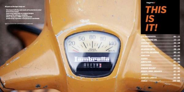 bgm Vespa Lambretta Catalog