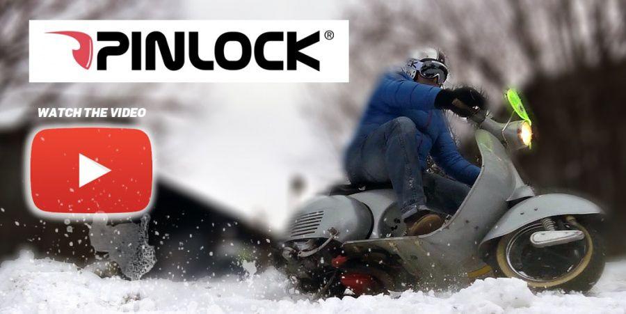 Pinlock Subzero goggles Vespa