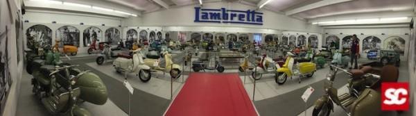 Lambretta Museum Vittorio Tessera italia