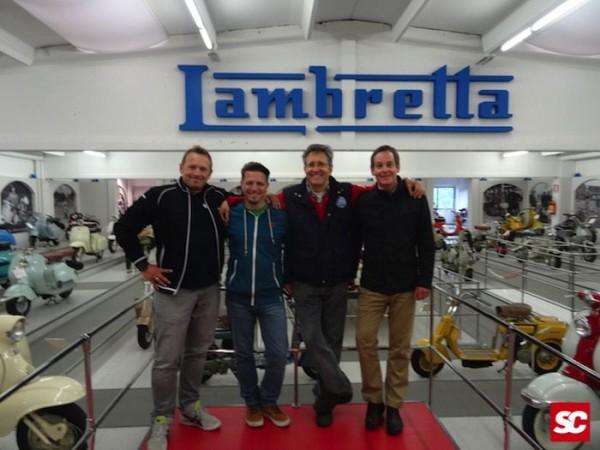 Scooter Center Team mit Vittorio Tessera