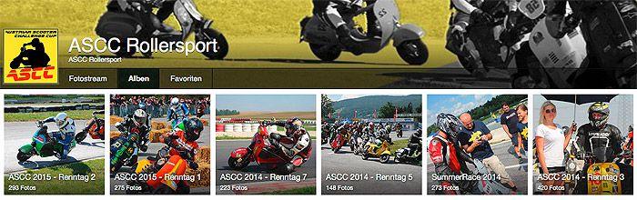 ascc vespa racing bilder fotos