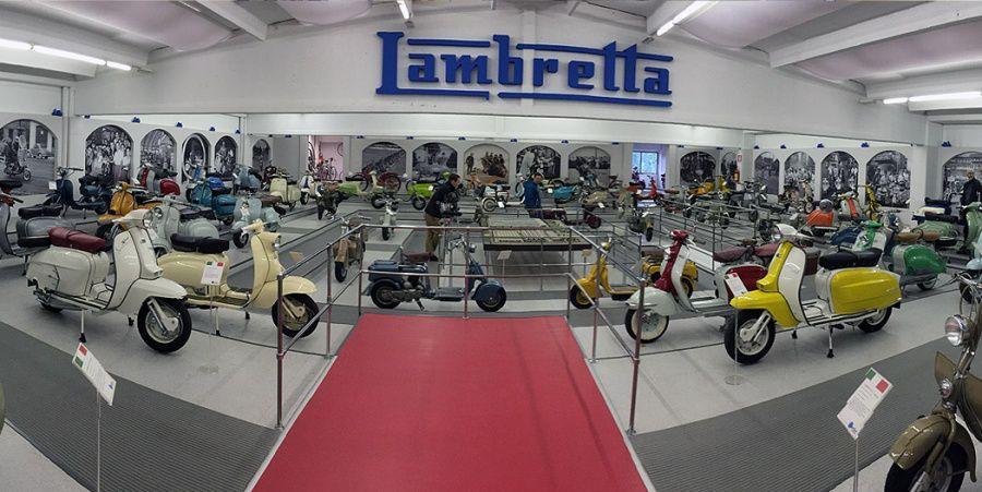 Lambretta Museum Casa Lambretta Vittorio Tessera Itlaia