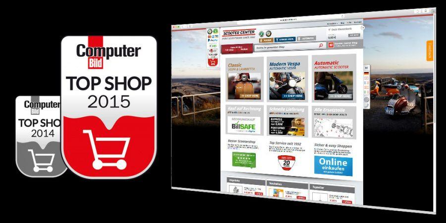 Top Shop Best Scootershop 2015
