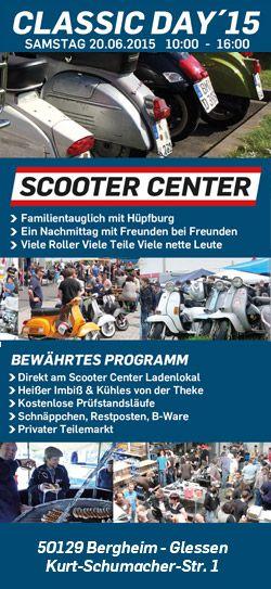 Vespa & Lambretta Classic Day im Scooter Center