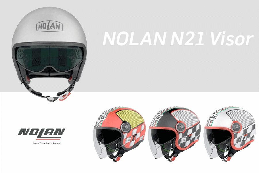 Nolan N21 Visor Vespa Roller Helm