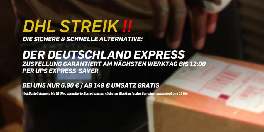 dhl streik Alternative UPS