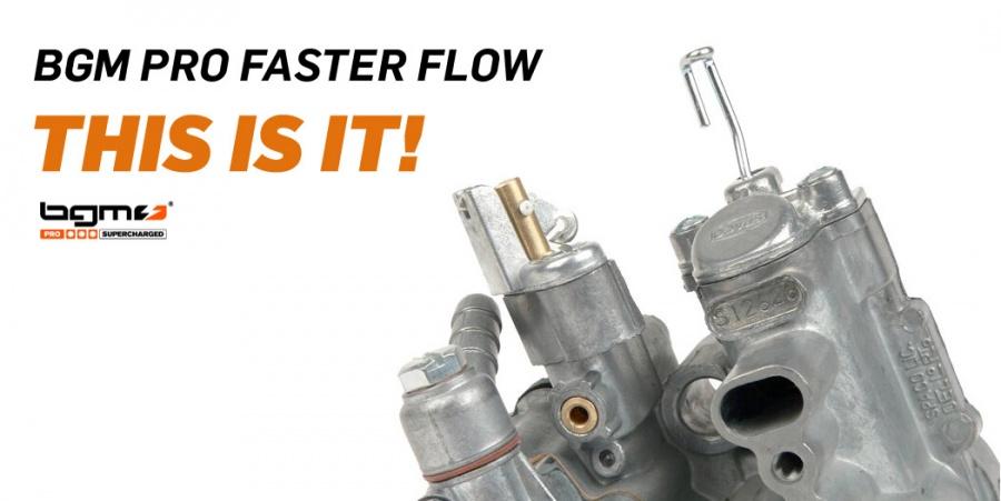 bgm pro fasterflow Vespa si26
