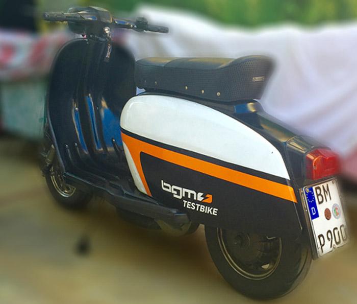 Lambretta Testbike