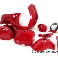 Vespa T5 Rahmen rot