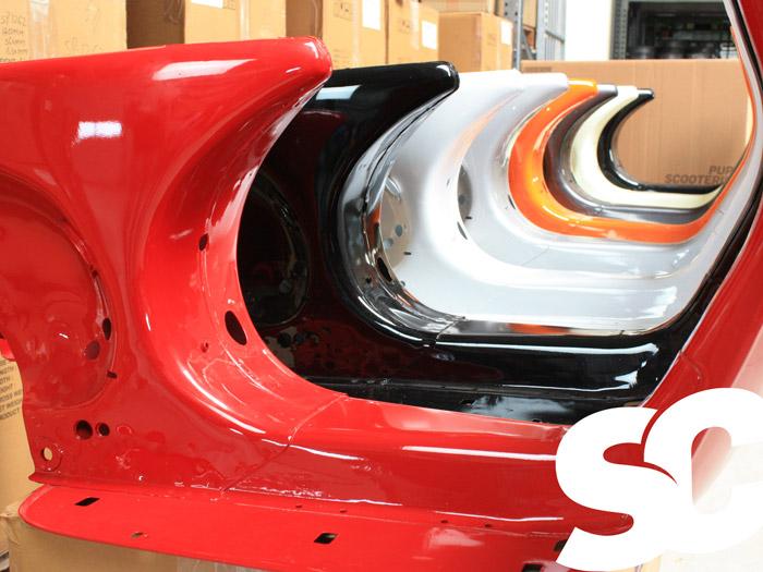 Vespa PX Rahmen in vielen Farben