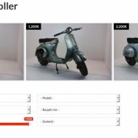 Vespa Roller zu verkaufen
