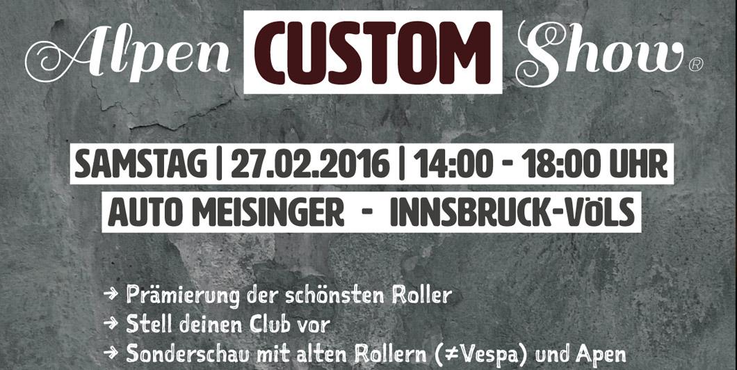 Veranstalter : Mountainmen Vespa Club Innsbruck