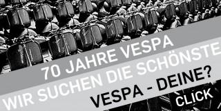 Die Vespa wird 70