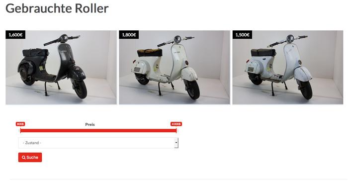 vespa roller zum restaurieren zu verkaufen scooter. Black Bedroom Furniture Sets. Home Design Ideas