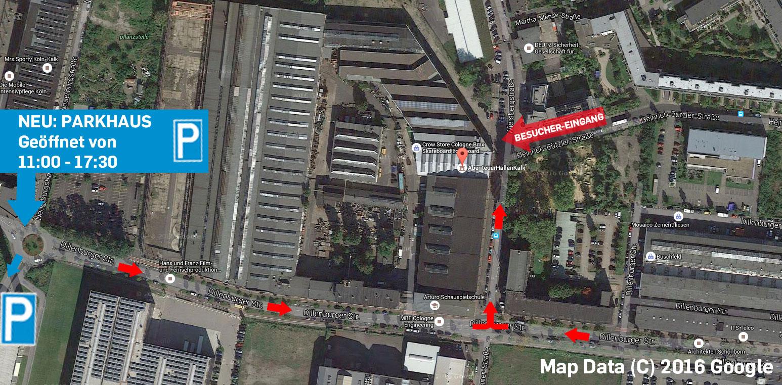 Parkplatz Custiomshow Köln