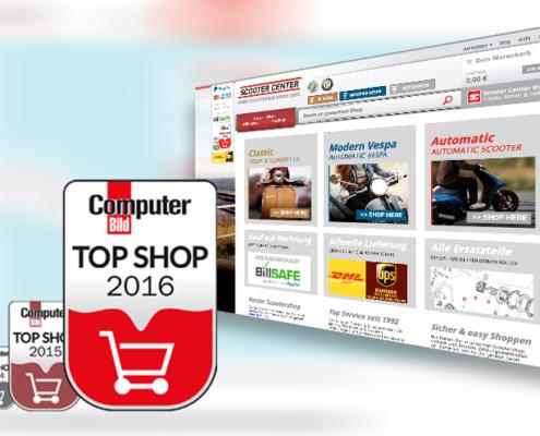 scooter-center Top-Shop-Garantie von COMPUTER BILD