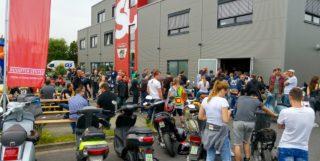 CLASSIC DAY?16 Das ist unser Tag der offenen T?r f?r unsere Vespa- und Lambretta-Kunden. Die, bei allen Rollerfahrern, beliebte Veranstaltung findet direkt am Scooter Center Store, in 50129 Bergheim-Glessen, statt.