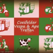 2.Coesfelder Vespa- und Apetreffen Wann: 19. Juni 2016 von 11 bis 18 Uhr