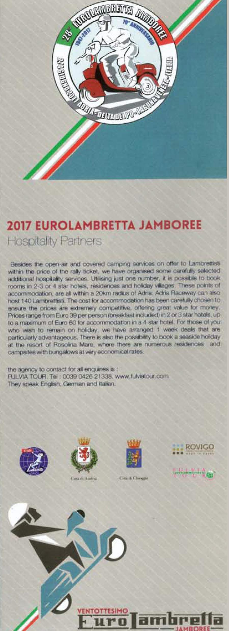 Eurolambretta 2017 Italia