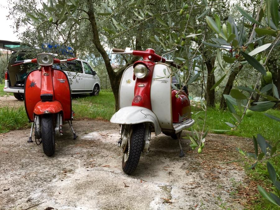 Lambretta DL & LI