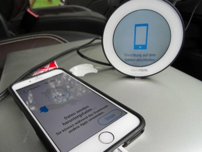 TomTom Vio Setup with Mobile Device App