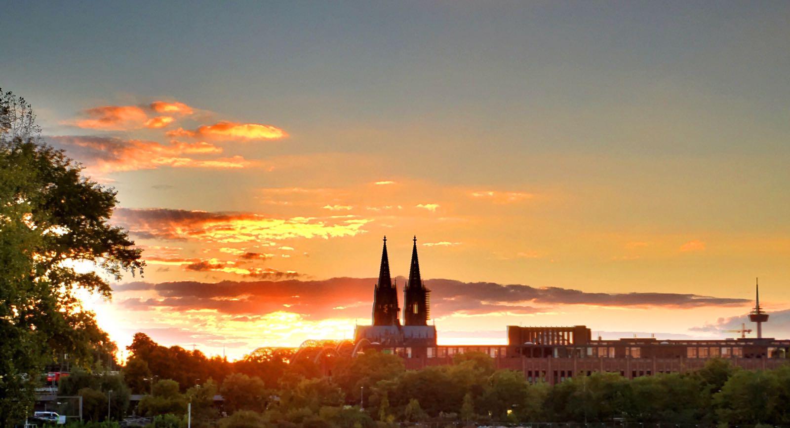 Abendstimmung Köln