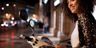 Navigationsger?t -TOMTOM VIO- f?r Motorroller gesteuert ?ber das Smartphone Artikelnr. TM00104