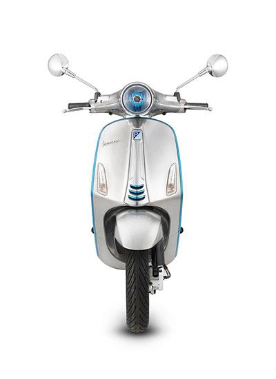 neue vespa mit elektro motor scooter center scootershop. Black Bedroom Furniture Sets. Home Design Ideas