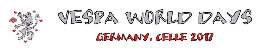 Vespa World Days 2017 - Celle - Deutschland