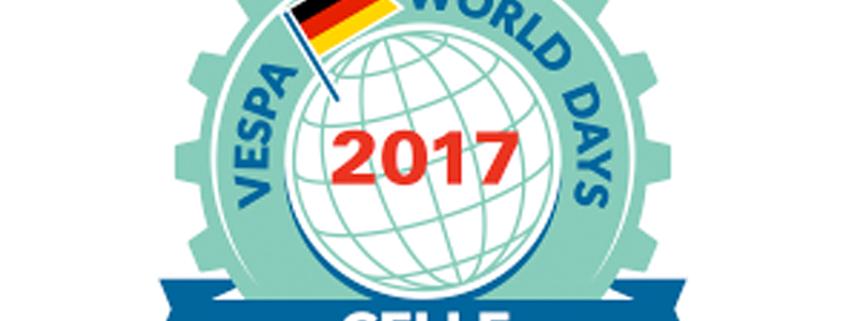 Logo Vespa World Days 2017 Celle Deutschland