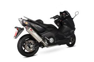 Yamaha TMAX 530 Serket Full System Stainless Steel Sleeve
