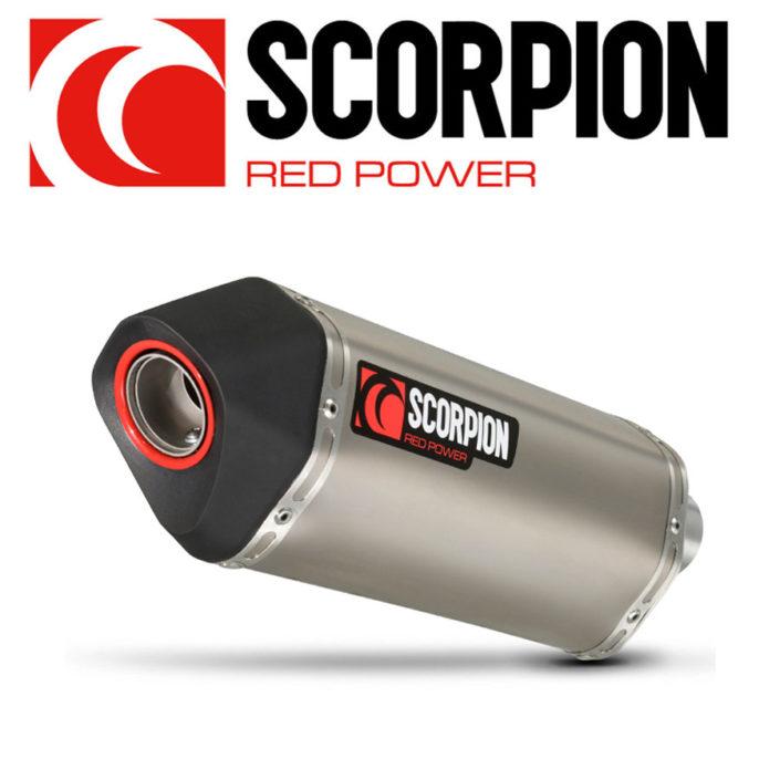 Scorpion Red Power Auspuffanlagen