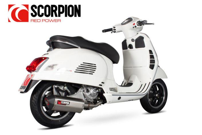 Scorpion Vespa GTS Auspuff