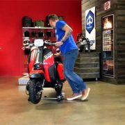 Roller Rangierhilfe mit Lambretta