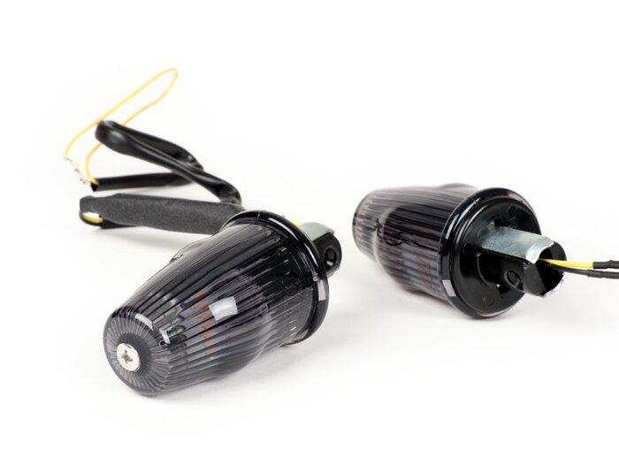 Vespa LED Lenkerendenblinker getönt schwarz