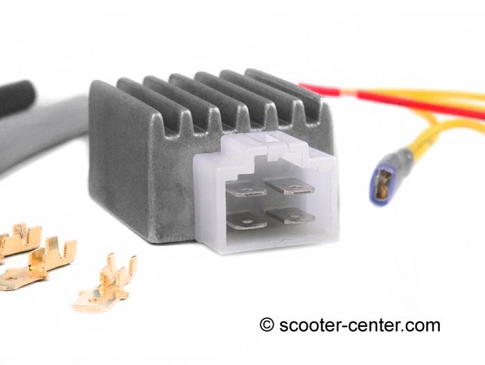 Spannungsregler -4-Pin BGM PRO 12V AC/DC- universal | Zündung ...