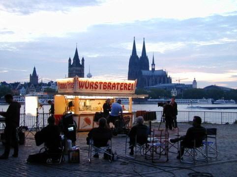 Tator Imbiss auf der Scooter Customshow Köln