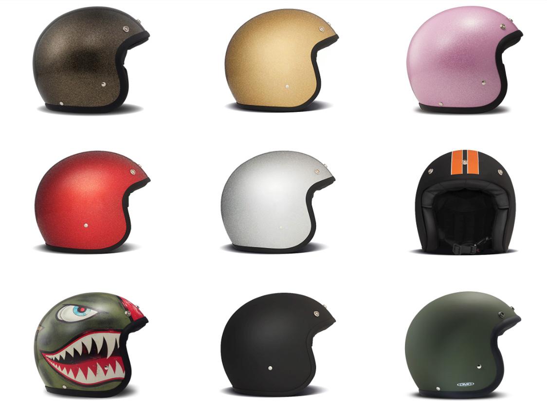 DMD Vintage Helm - Rollerfahrer Helm