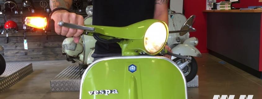 Vespa Lenkerendenblinker LED Motonostra