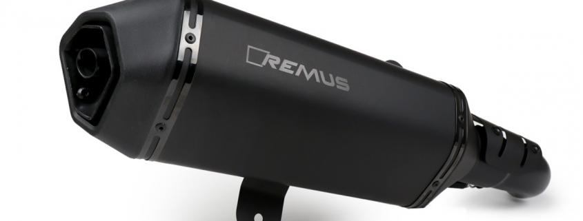 Auspuff -REMUS EXKLUSIV Sondermodell NOTTE (mit Katalysator) Sportexhaust- Vespa GTS 300ie SUPER (ZAPMA33) - (Euro 4, 2016-) - schwarz matt Remus Artikel-Nr.: 3333284