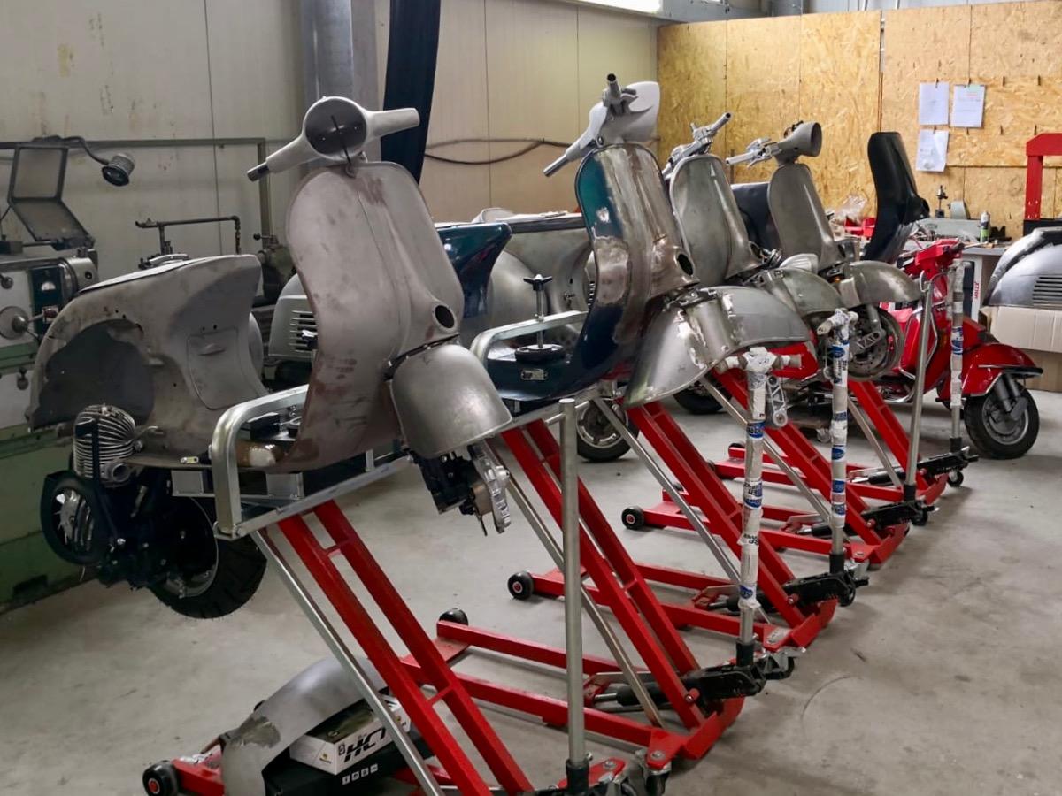 scooter service vespa tuning scooter center vespa. Black Bedroom Furniture Sets. Home Design Ideas